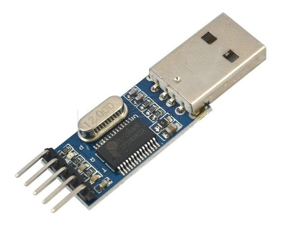 Adaptador Usb Ttl Serial Pl2303 5v Rs232 P/ Arduino