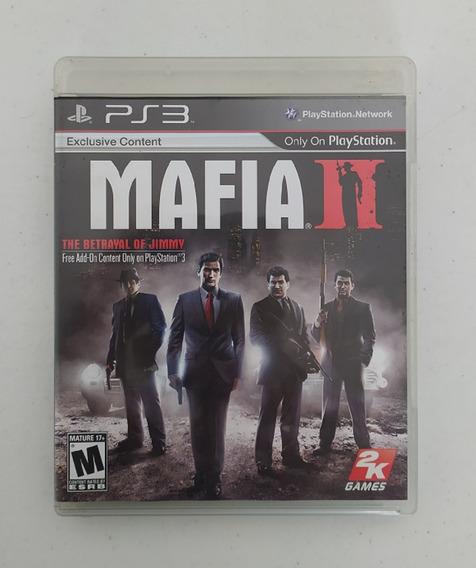 Jogo Mafia 2 - Ps3 - Original - Mídia Física - Usado - Play