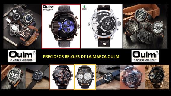 Relojes Para Caballeros Marca Oulm