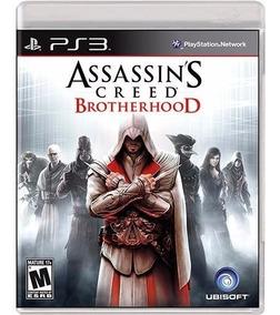 Jogo Assassins Creed Brotherhood Ps3 Mídia Física Nf