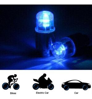 Luz Led Para Bicicleta/motocicleta/auto Llanta