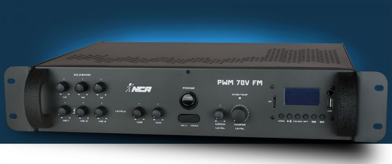 Pré Amplificador Pwm 70v Fm Nca Ll Audio