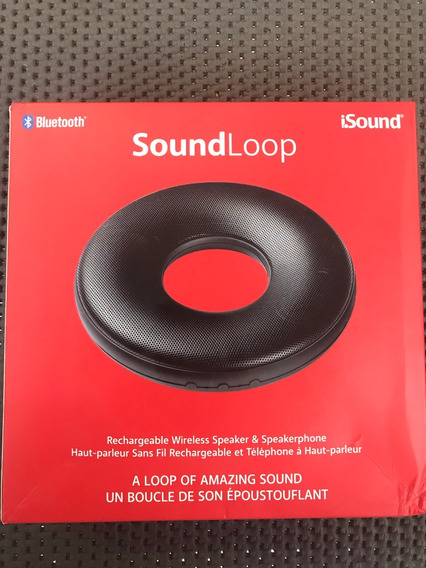 Caixa De Som Bluetooth Isound - Soundloop