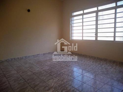 Casa Com 3 Dormitórios Para Alugar, 111 M² Por R$ 2.500,00/mês - Jardim Paulista - Ribeirão Preto/sp - Ca1394