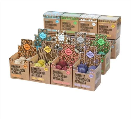 Bombitas Defumación Activada Sagrada Madre Pack X 8 Cajas