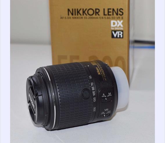 Nikon 2 Lentes Nikon + Nota Fiscal