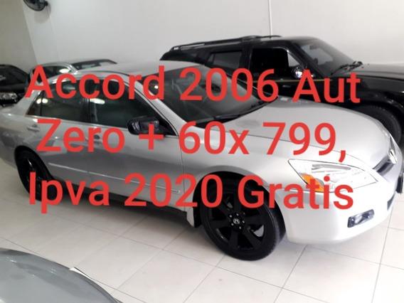 Accord Lx 2.0 Aut Zero Entrada + 799,00 Parc