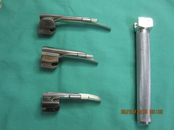 Laringoscopios Mac Cuchillas Pediatrico Rusch Reister