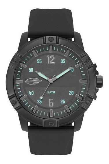 Relógio Mormaii Steel Basic Masculino Preto Mo2036iq/2p