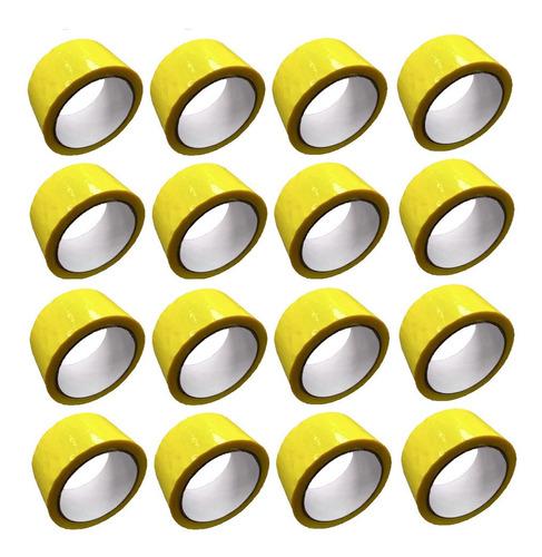 E Cinta Amarilla Adhesiva X 16 Unidades