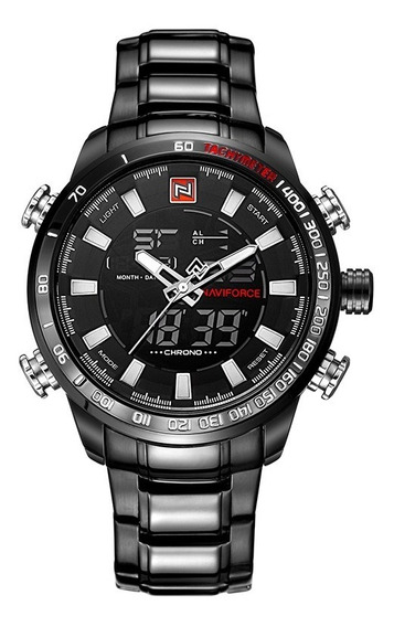 Relógio Masculino Naviforce 9093 Original Militar Elegante