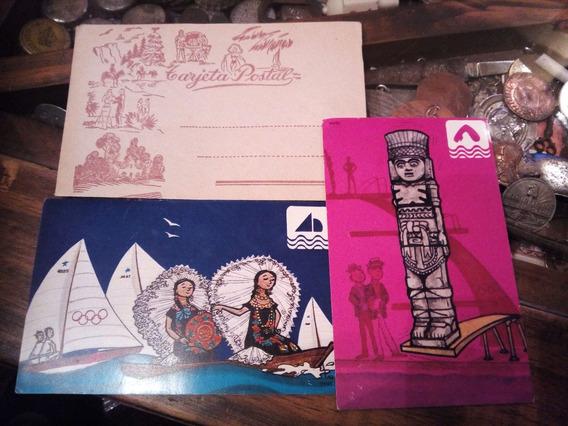 Postales Antiguas Mexico 1968 Juegos Olimpicos