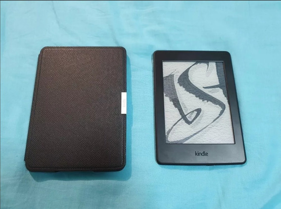 Kindle Paperwhite Semi Novo + Capa Original