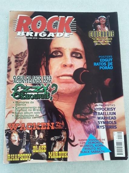 Revista Rock Brigade 170 2000 Ozzy Osbourne