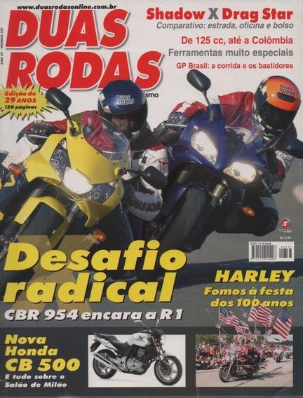 Duas Rodas N°337 Honda Cbr 900rr Fireblade Yamaha Yzf-r1