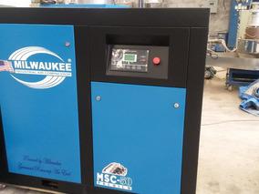 Compresor De Tornillo Marca Milwaukee Nuevo En Venta 50 Hp