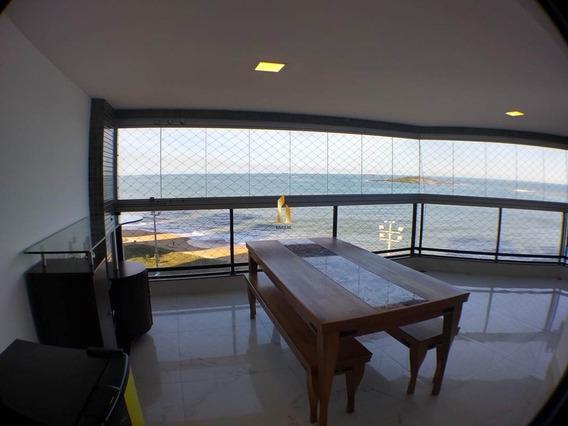 Aluga-se Apartamento 04 Quartos Frente Mar Praia De Itaparica. - 19383