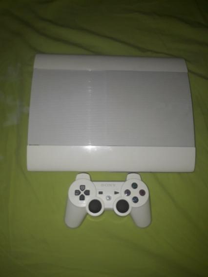 Playstation 3 Super Slin Branco Destravado Hd 500gb