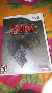 The Legend Of Zelda Twilight Princess Para Nintendo Wii