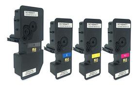 Kit 4 Toner Comp Kyocera Tk5232 Tk-5232 K M C Y M5521 P5021