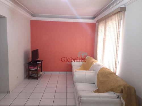 Apartamento Com 2 Dormitórios À Venda, 92 M² Por R$ 479.000,00 - Aparecida - Santos/sp - Ap0276