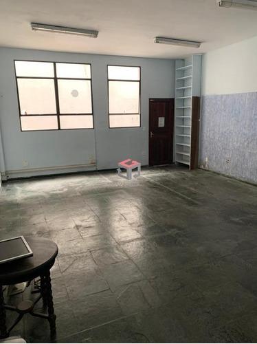 Salão 90 M² Para Locação - Centro - São Bernardo Do Campo - 99020