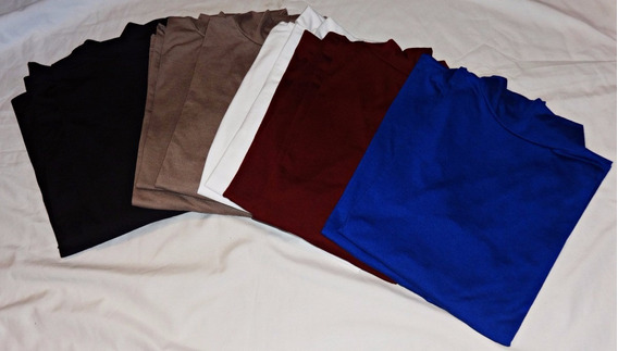 Poleras Nuevos Colores Talles Grandes Largas 140 Cm Busto