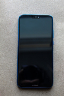 Celular Hauwei P20 Lite Color Azul Claro