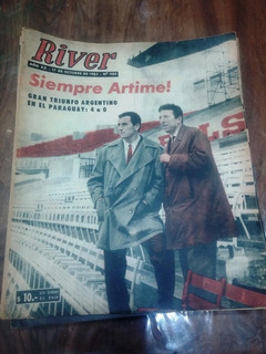 Revista River 984 Amadeo Carrizo Angel Labruna