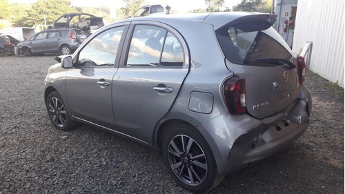 Sucata Nissan March 1.6 111cvs Flex 2020 Rs Caí Peças