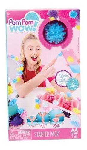 Imagen 1 de 5 de Pom Pom Wow Pompones  Set De Arte Y Decoración Starter Pack
