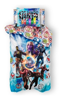Edredón Avengers Reversible Y Funda Decorativa, Individual
