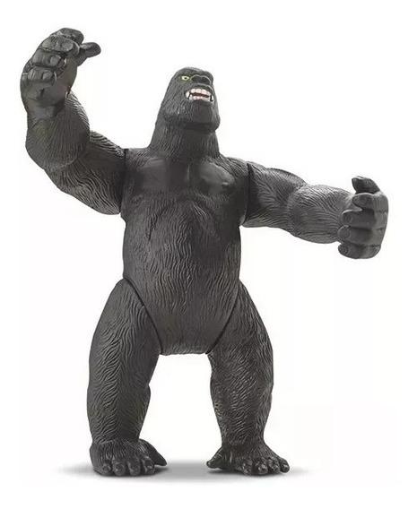 Bonecão Boneco Gorila King Kong Articulado 25cm Selva