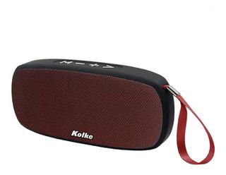 Parlante Kpp-260 Take Bluetooth Rojo Kolke Gfx
