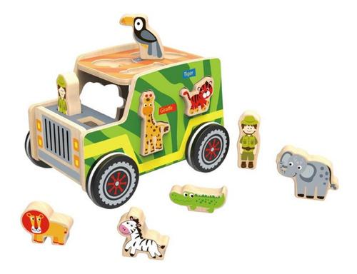 Jeep Safari De Madera