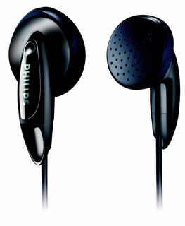 Auriculares Philips In Ear She1350/00 Negro Lhconfort
