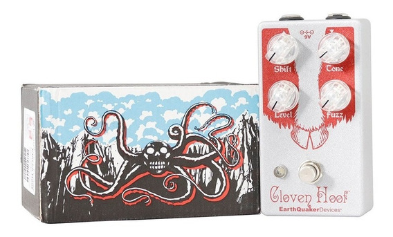 Pedal Earthquaker Devices Cloven Hoof Fuzz Grinder + Fonte