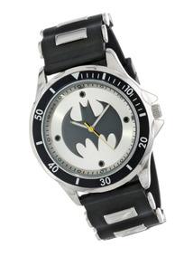 Reloj Batman Original Dc Analogo Hombre Joven O Adulto