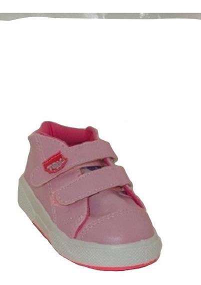 Botita Toy Cuero Rosa