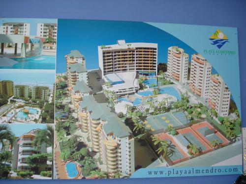 Imagen 1 de 12 de Arriendo Departamento En Condominio Frente Al Mar
