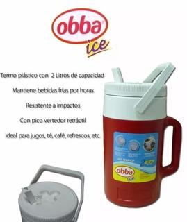 Termo Obba Ice X 2lt Azul
