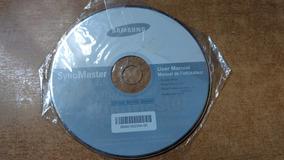 Cd De Instalação Driver Monitor Samsung , Original