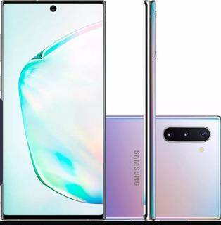Samsung Note 10 Prata 256gb Na Caixa - 1 Ano De Garantia Nf
