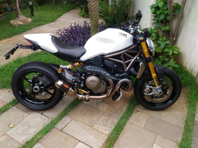 Ducati Monster 1200s Branca