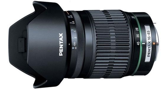 Pentax 16-45mm (versão Cropada 24-70mm) = Pronta Entrega