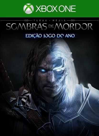 Middle-earth Shadow Mordor Goty Xbox One - 25 Digitos