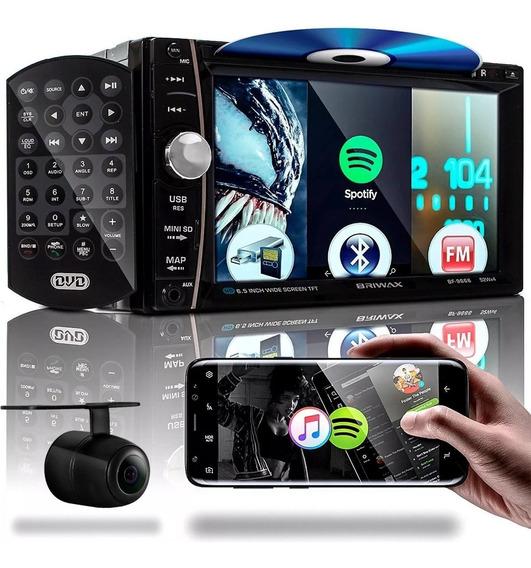 Central Multimídia Mp5 Dvd Cd Bluetooth Full Touch 7 Fm Usb