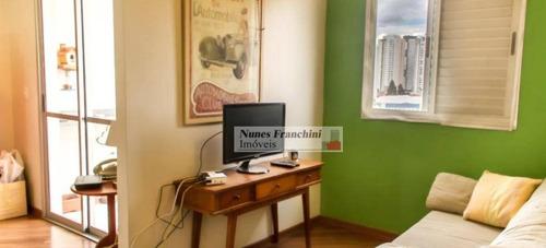Água Branca Zo/sp - Apartamento 3 Dormitórios, 1 Suíte, 2 Vagas - R$489.000,00 - Ap7379