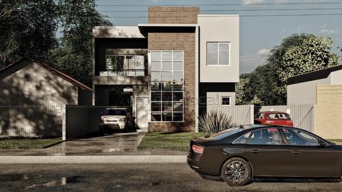 Sobrado Com 3 Dormitórios À Venda Com 117m² Por R$ 580.000,00 No Bairro Cajuru - Curitiba / Pr - So00269