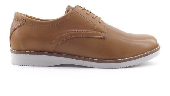 Zapato Hombre Cordon Cuero Casual Nuevos Comodo Liquidacion